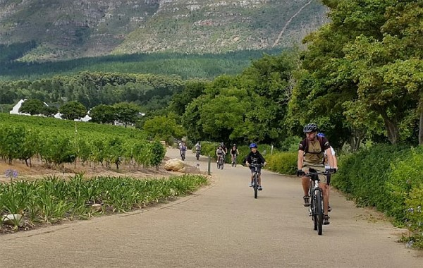 Active winelands - biking