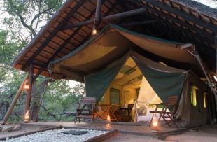 Kwambili tent from outside