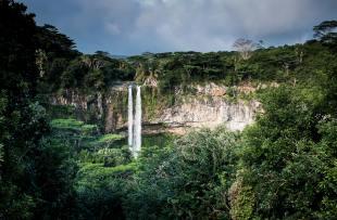 Unsplash - free download - Chamarel Waterfall